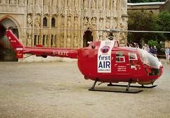 G BATC MBB Bo105DB s/n S045 (Steve Stoneman) Tags: air first ambulance helicopter devon exeter bond bo105