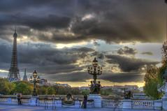 Eiffel Tower from Pont Alexander III