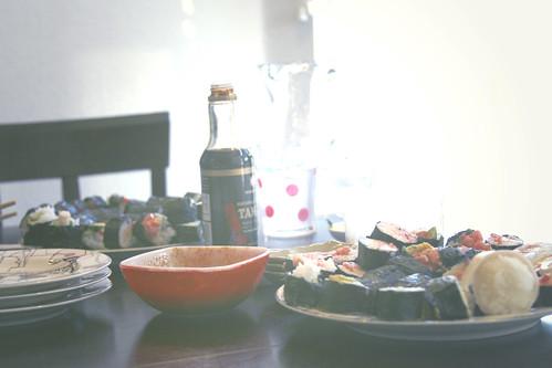 120:365, Sushi night