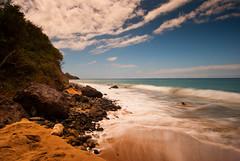 _DSC0310 (G.V Photographie) Tags: sea sky cloud sun mer france beach sand waves sable bleu ciel shore nuage vagues plage solei guadeloupe antilles cocotiers crabe galet deshaies poselongue bleuturquoise