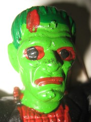 Frankenstein 8178 (Brechtbug) Tags: red portrait holiday black green film halloween monster by movie toy toys scary paint mask ben action head decoration like s rubber spooky frankenstein cooper figure horror terror boris undead monsters universal corpse creature fright played karloff 2011 reanimated jiggler