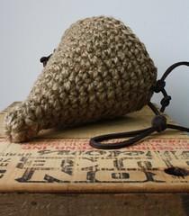 5-3-2011-2 104 (umelecky) Tags: basket cone handmade crochet ecofriendly hangingbasket jute umelecky 5320112 conebasket