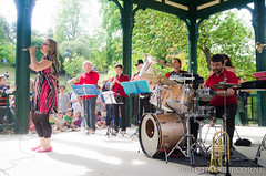 Fanfare Faz au parc Montsouris (ehau78) Tags: paris france jazz iledefrance parc faz fanfare cuivre parcmontsouris erichauchecorne fanfarefaz