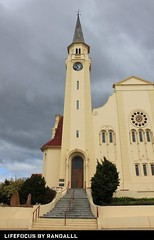 napier church (WITHIN the FRAME Photography(4 Million views tha) Tags: church entrance overcast steeple napier architecure eos550d