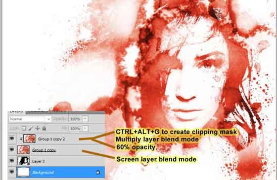 Foto con manchas en Photoshop