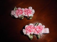 Iron Craft #18:  Flower Hair Clips
