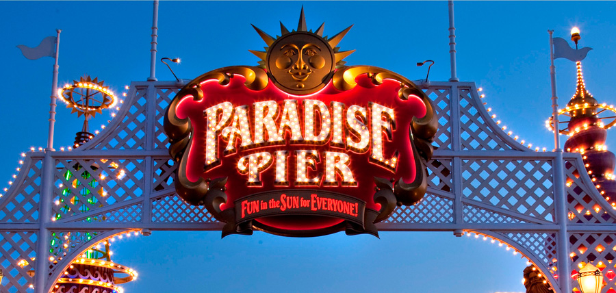 Paradise Pier Transformation to be Complete July 1