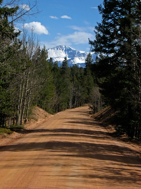 Clear Pikes Peak