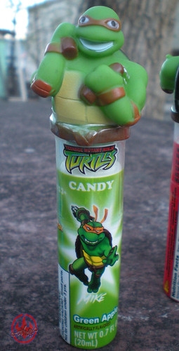 Koko's Confectionery & Novelty :: 'Teenage Mutant Ninja Turtles' CANDY SPRY // Michelangelo - GREEN APPLE i (( 2009 ))