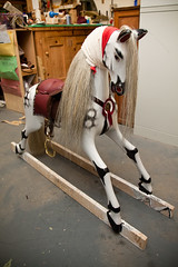 **NEW** Rocking Horse with hair just fitted (The Rocking Horse Shop) Tags: hobbyhorse rockinghorse childrenstoys rockinghorses antiquerockinghorse traditionalwoodentoys traditionalwoodenrockinghorse traditionalwoodenrockinghorses rockinghorserestoration rockinghorserenovations