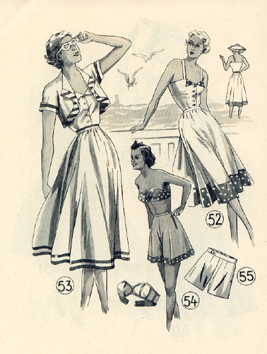 Summer patterns 1951