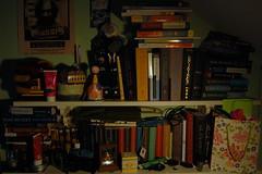 18 (allnightavenue) Tags: life summer black eye bells poster reading room events harry potter like books shelf spy sirius looks week series update bookshelves shelves challenge unfortunate 52