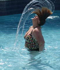 The Hair Flip (ClaraDon) Tags: twirl mothersday hairflip
