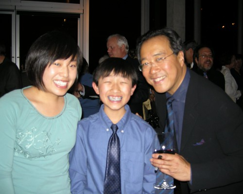 Meeting Yo-Yo Ma