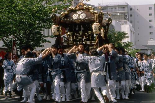 松原神社例大祭 - 本社御輿 by Lono_Luno