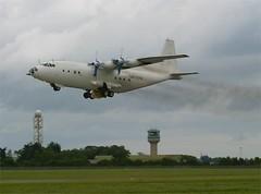 Mithras Cargo    Antonov AN12TB   UN-11012 (Flame1958) Tags: dublin dub 2007 dublinairport mithras antonov 0707 an12 airfreight aircargo 020707 eidw an12tb un11012 mithrascargo antonovan12tb