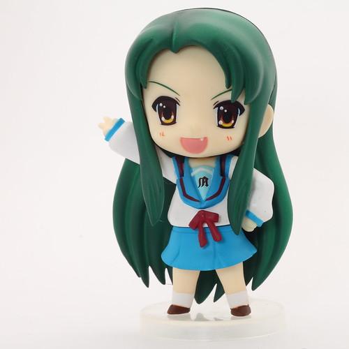 自作10円ライティングボックスで撮影した鶴屋さん