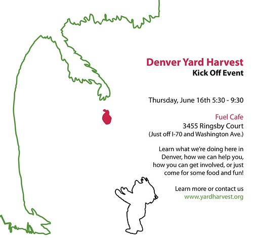 Denver Yard Harvest Kick Off Event