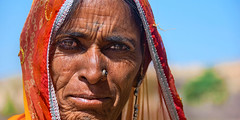 Women Leader (pearson_251) Tags: life portrait woman india eyes colorful indian leader lives rajastan hardlife strog