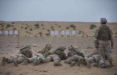 110521-F-0929W-047 (JHTNS-DMA) Tags: exercise morocco artillery marines tanks africanlion mortars campdra