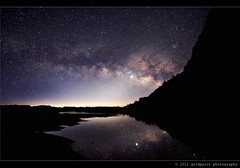 Me Amour (Goldpaint Photography) Tags: usa reflection stars landscape dawn venus desert tx astrophotography astronomy nightsky bigbendnationalpark starrynight milkyway santaelenacanyon earthandspace widefieldastrophotography goldpaintphotography competition:astrophoto=2011