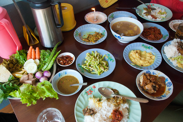 Lunch in Pyin Oo Lwin, Myanmar