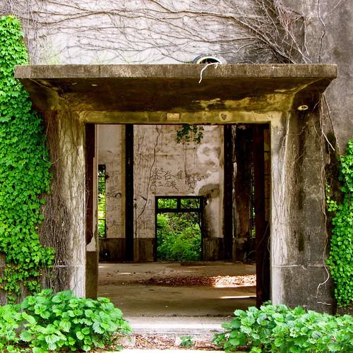 大久野島の廃墟 Okunoshima ruins