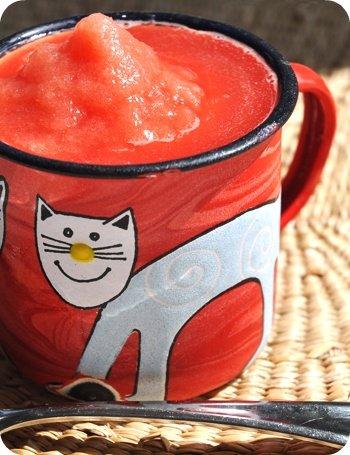 Watermelong slushie