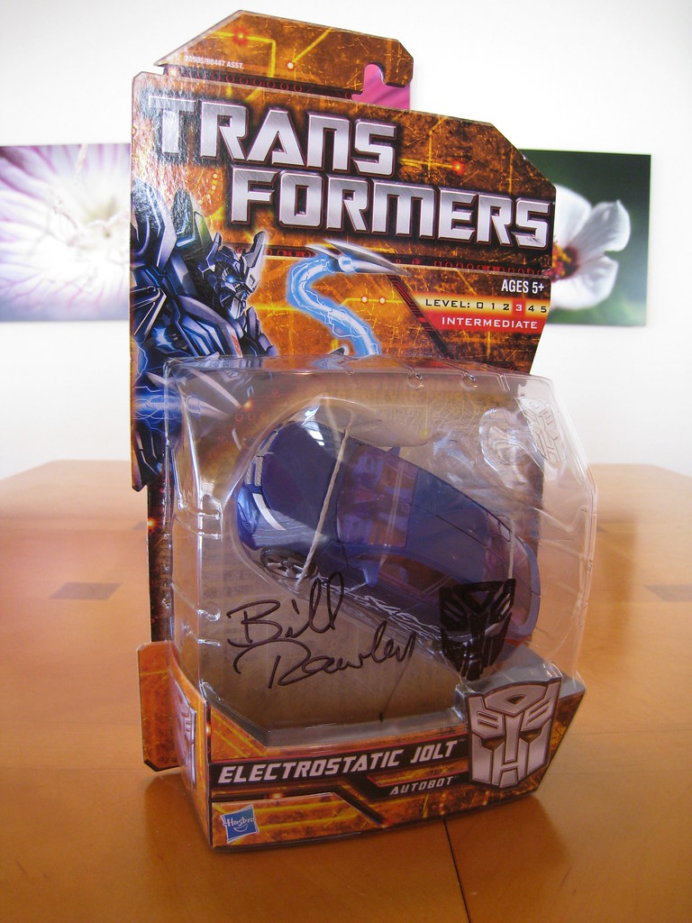 Electrostatic Jolt signed by Bill Rawley