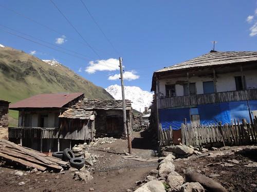 Aldeia de Ushguli - Svaneti Geórgia