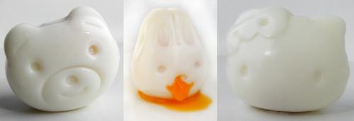 Japanese Egg mold shapes