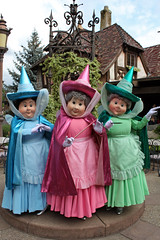 Meeting Flora, Fauna and Merryweather