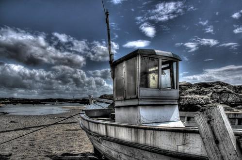 """Resting Boat"" - Burtonport, Donegal (June 2011)"