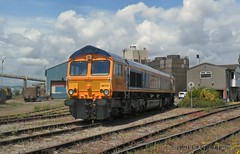 66737 Tremorfa Steel Works. (martin289) Tags: wales industrial steel south cardiff locomotive railways class66 railscape tremorfa gbrf 66737 railview railscene tremorfasteelworks martin289 griffinimages