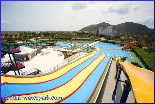 Alcudia Waterpark's FOAM Slides