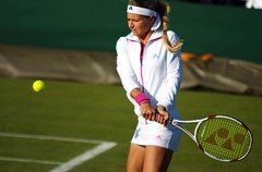 Kirilenko warm-up (Not enough megapixels) Tags: ladies london slam maria grand tennis championships wimbledon singles sw19 kirilenko 2011