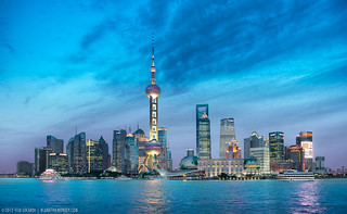 Shanghai - City Of Lights (China)