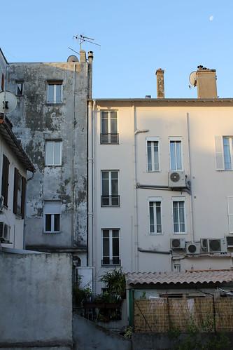 Cote d'Azur: hotel view