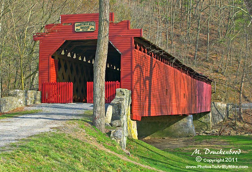 Greencastle (PA) United States  city photos : Martins Mill Covered Bridge near Greencastle Pennsylvania by ...