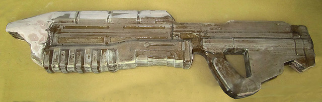 Assault Rifle Bondo Begins
