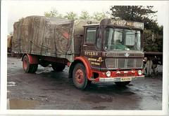 Spiers Mercury, RUO 92H (ergomammoth) Tags: lorry lorries truck trucks aec aecmercury av505 aecltdsouthall ergomatic tiltcab britishleylandtruckbusdivision spiersroadservices spiersofmelksham transportcontractors haulagecontractors roadhaulage melksham wiltshire