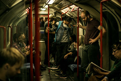 Routine (StefanCosta) Tags: london tube station routine cinematic people england travelling underground day city canon canon70d 50mm