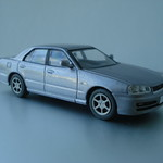 LV-N128a NISSAN SKYLINE 25GT TURBO (Silver) - MY2000