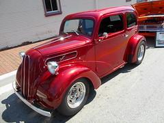 1951 Ford Anglia (splattergraphics) Tags: 1951 ford anglia hotrod customcar carshow chesapeakecitylionsclub chesapeakecitymd