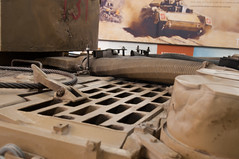 T131 Engine deck and rear turret with damage (VstromJ) Tags: pz vi 131 pzvi tiger131 fury