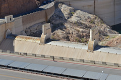 Hoover Dam Spillway & Gates (dr_marvel) Tags: nevada arizona dam hoover hooverdam spillway gates water hydroelectric electricity cement concrete