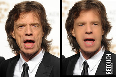 Mick Jagger Young (Retouch)