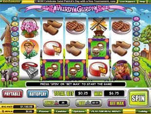 free Hurdy Gurdy slot scatters