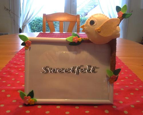 ♥♥♥ Para o quartinho da Sara ... by sweetfelt \ ideias em feltro