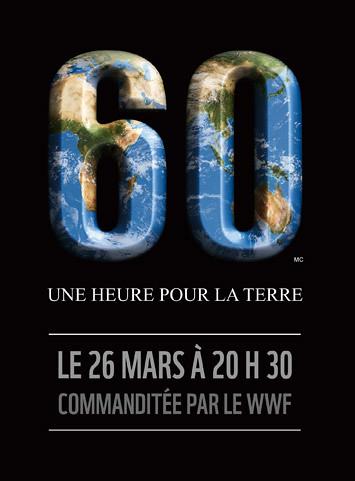 60 minutes pour la terre